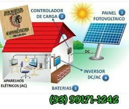 Kits de energia solar promoção