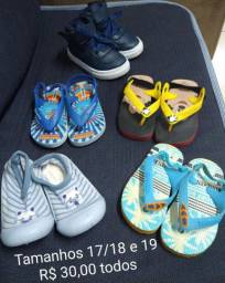 Calçados bebê menino