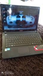 Notebook Intel core i3 FORMATADO FUNCIONANDO PERFEITAMENTE PRONTO PRA USAR <br><br>FORMATADO