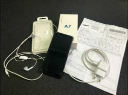 Samsung A7 128gb com nota fiscal