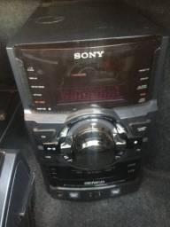 Som residencial Sony