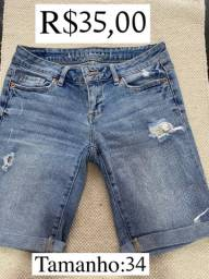 Bermuda jeans Aeropostale