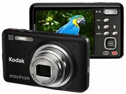 Câmera Digital Kodak Easyshare M5350 16 Mp HD Preta