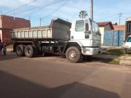 Vendo ou troco em caminhão de carroceria caminhão basculante 2422 2008/2009