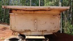 Caçamba de caminhão toco