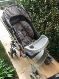Carrinho de Bebê + Bebê Conforto Galzerano
