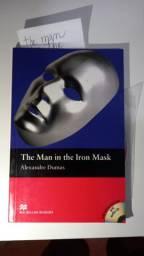 """Livro literário """"The man in the iron mask"""""""