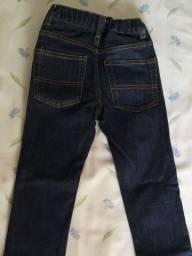 Calça jeans infantil menino nro 8 Skinny, marca importada Oshkosh