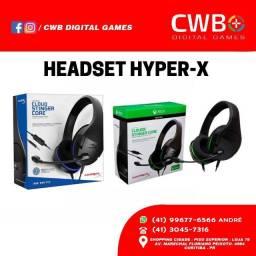 Headset Hyper X Cloud Stinger, novo lacrado c/garantia. Loja física