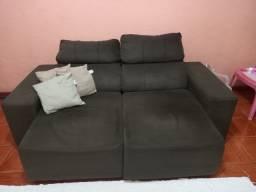 Sofá reclinável 2 lugares