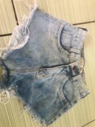 Shorts jeans semi novo