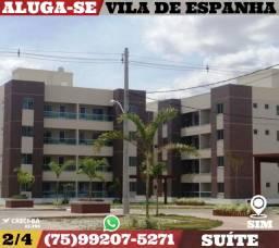 Aluga-Se-Vila De Espanha 2/4-Suíte-Bairro Sim-Feira de Santa-Ba