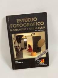 Curso Estúdio fotográfico montagem e utilização: Livro + DVD    200,00