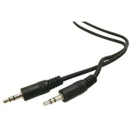 Cabo P2 + P2 Stereo Áudio Auxiliar 0,53cm