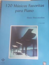 120 músicas favoritas para piano