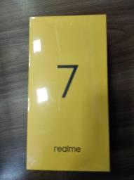 Novidade! REALME 7! 8 de RAM 128.. Novo LACRADO Garantia e entrega hj
