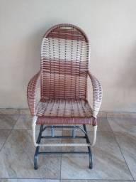 Cadeira de balanço nova últimas peças