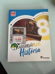 Livro arariba plus história