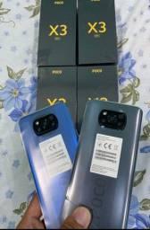 XIAOMI POCO X3 128GB 6GB ram tela 6.67 NFC 64mpx câmera