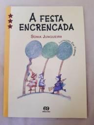 Livro A Festa Encrencada