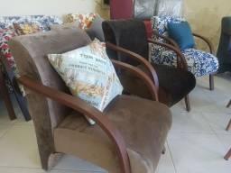 Cadeiras decorativas.
