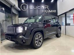 Jeep Renegade 2020 -Com led -automatico-banco de couro- multimidia-2021 vist