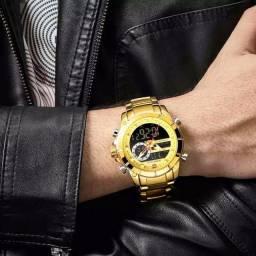 Relógio Naviforce em Aço Inoxidável