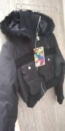 Jaqueta de nylon nova tamanho g