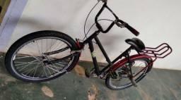 bike aro 24 com macha R$300 ou troco por celular do meu interesse