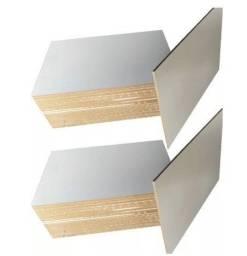 Chapa MDF 6 mm Branco 20x28,7 cm 20 unidades