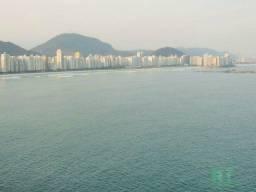 Título do anúncio: Apartamento na praia, Vista mar, 3 dormitórios, Lazer, 1 vaga, Astúrias, Guarujá.