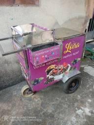 Vendo carrinho de açaí