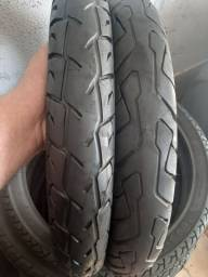 Vendo 2 pneus da biz traseiros