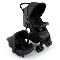 Carrinho de Bebê Cosco Travel System Nexus - Até 15 kg - Preto