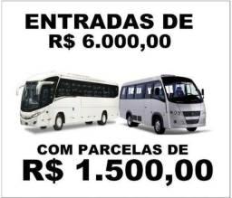 Créditos para aquisição de micro-ônibus