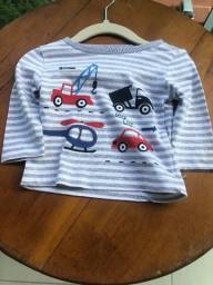 Camisa para bebê