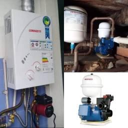 Instalação e manutenção de Pressurizadores