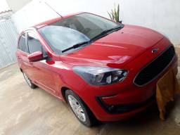 Vende.se um Ford ka plus vermelho na garantia até fim de 2022