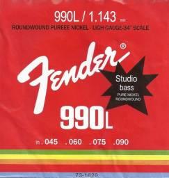 Encordoamento Fender Baixo 4 Cordas .045