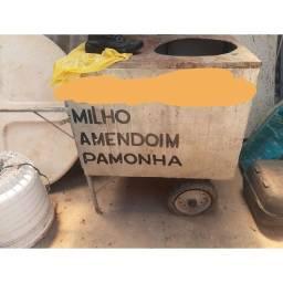 Carro para vender milho e Amendoin