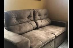 Sofá retrátil e reclinável phormatta
