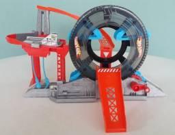 Pista Hot Wheels Garagem Lava Rápido, Mattel