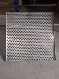 Título do anúncio: Bandeja quadrada de alumínio