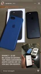Vendo iphone 7 novo dms