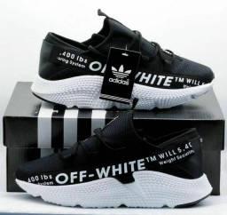 Tênis adidas off-white