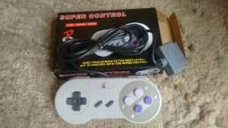 Controles; Super Nintendo, Playstation 3 e Dynavision
