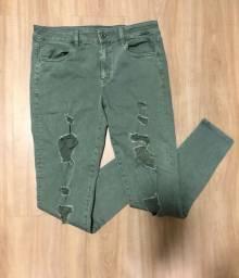 Calça jeans American Eagle