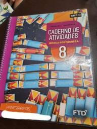 Livro: Panoramas: Caderno Atividades - Língua Portuguesa - 8º Ano<br><br>
