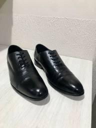 Sapato Oxford Cap Toe Spirito Santo 100% couro