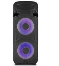 Caixa de Som Torre Double 15 Polegadas Multilaser 3.500w BT/AUX/SD/FM - SP344